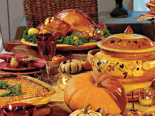 Thanksgiving: recipes, ideas and cooking
